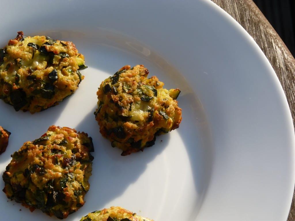 courgette zucchini polpette