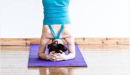 Releasing fear through yoga