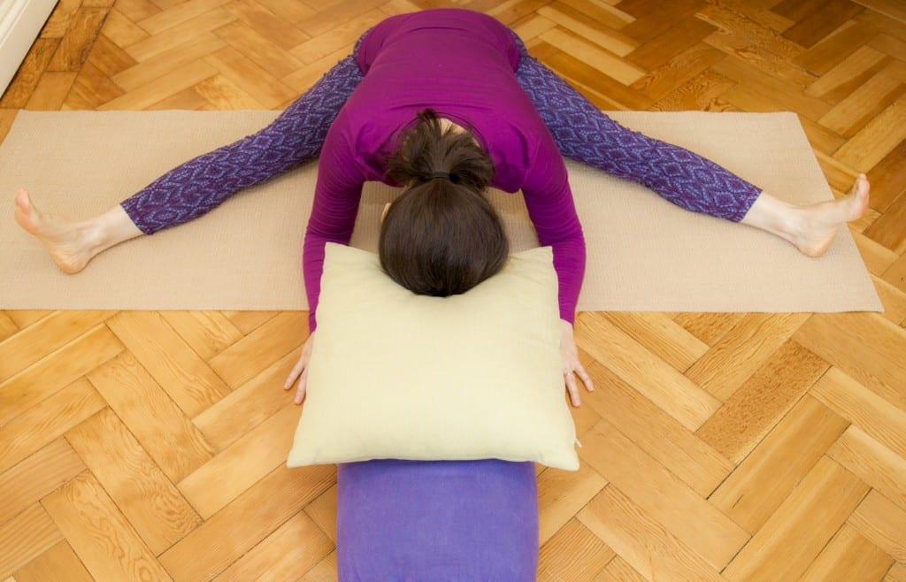 restorative yoga hip opener