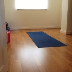 sacred space, yoga home practice