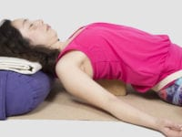 Restorative yoga to breathe away stress