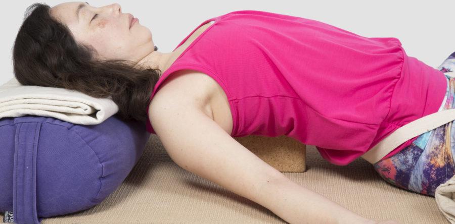 Restorative yoga to breathe away stress