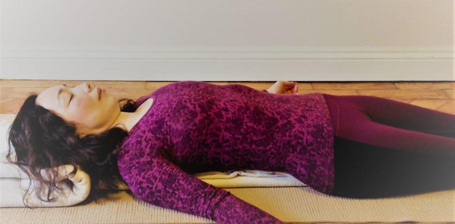 Expand prana with viloma breathing (pranayama)