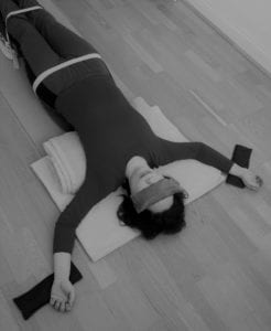 restorative yoga backbend