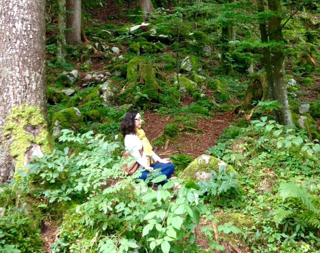 mini meditation to feel calm